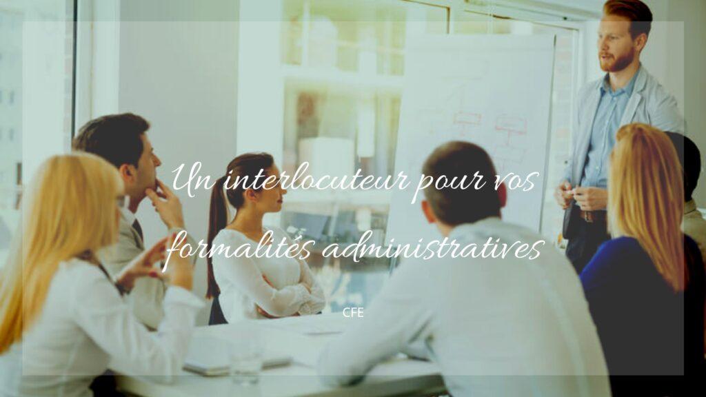 formalites administratives