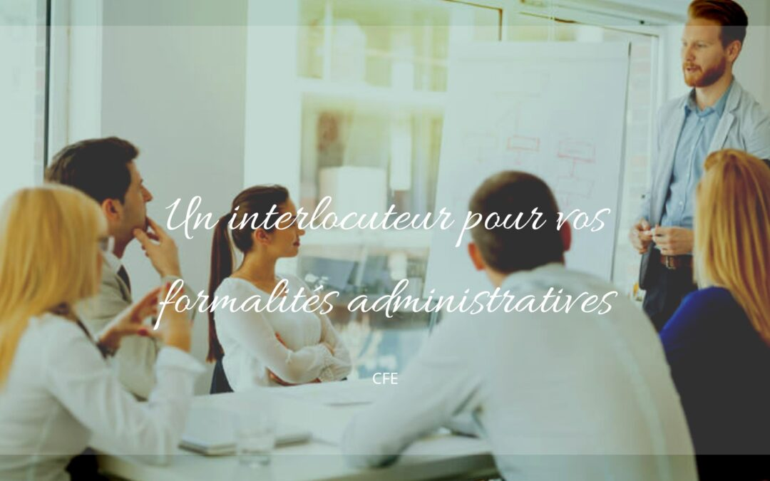 formalites administratives