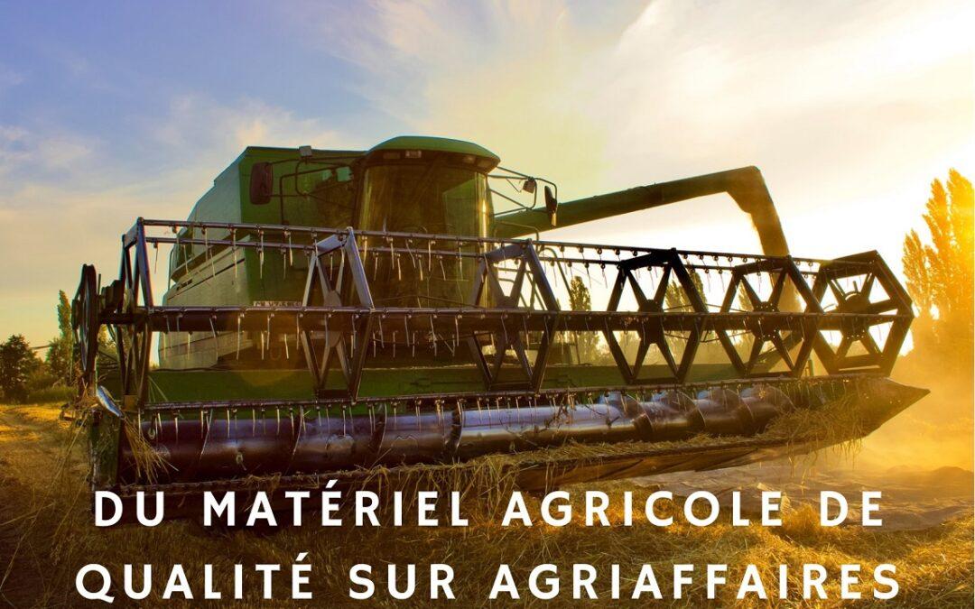 Le succès de la plateforme de matériel agricole Agriaffaire
